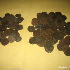 Monedas ibéricas: 75 MONEDAS DE 5 CTS Y 99 DE 10 CTS - GOBIERNO PROVISIONAL ESPAÑA 1870. Lote 206768390