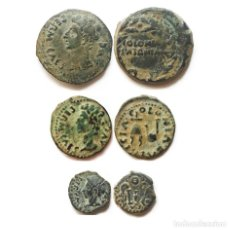 Monedas ibéricas: LOTE MONEDAS IBERICAS DE LA COLONIA PATRICIA, AS, SEMIS Y CUADRANTE.. Lote 207287655