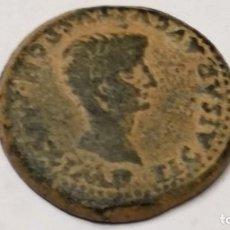 Monedas ibéricas: AS DE TIBERIUS - ITÁLICA ( SEVILLA)14 - 37 D.C. 14,57 GR. 28 MM.. Lote 210077812