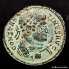 Monedas ibéricas: CONSTANTINO I (337-340 D.C), FOLLIS.TRIER. BEATA TRANQUILLITAS. Lote 210726562