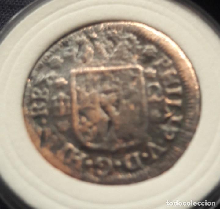 Monedas ibéricas: 2 maravedies, Felipe V, año 1744 - Foto 2 - 210202745