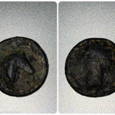 Monedas ibéricas: MONEDA HISPANO CARTAGINESA. VER FOTOS. Lote 212585100