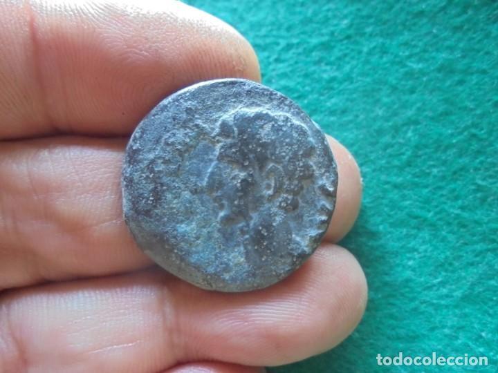 Monedas ibéricas: bonito as de la ceca de colonia Patricia , patina verde muy bonita - Foto 2 - 215277590