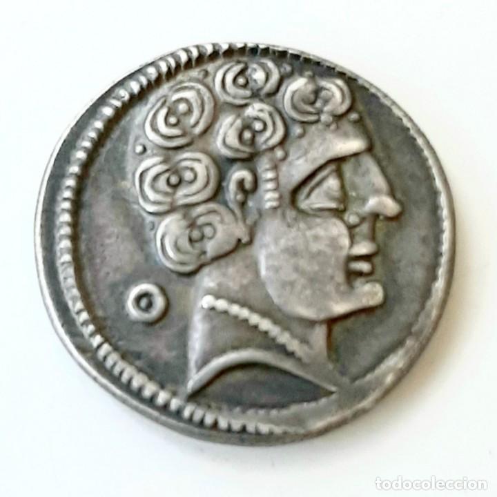 DENARIO AREKORATAS CIRCA 120-20 A.C. (Numismática - Hispania Antigua - Moneda Ibérica no Romanas)