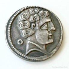 Monedas ibéricas: DENARIO AREKORATAS CIRCA 120-20 A.C.. Lote 214498703