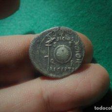 Monedas ibéricas: AUGUSTO. DENARIO FORRADO . COLONIA PATRICIA ,ESCUDO ENTRE ÁGUILA Y ESTANDARTE., PESO: 2,5 GRAMOS. Lote 217685927