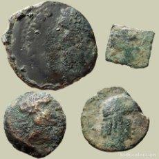 Monedas ibéricas: CONJUNTO DE DIFERENTES MONEDAS ÍBERAS Y ROMANAS (4). 53-L. Lote 221612095