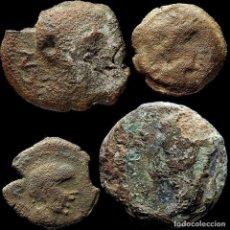 Monedas ibéricas: LOTE DE 4 MONEDAS DE ÉPOCA IBÉRICA. 63-M. Lote 221612941