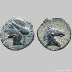 Monedas ibéricas: ANTIGUA HISPANIA - CALCO HISPANO-CARTAGINÉS, BUEN EJEMPLAR. 93-M. Lote 221614245