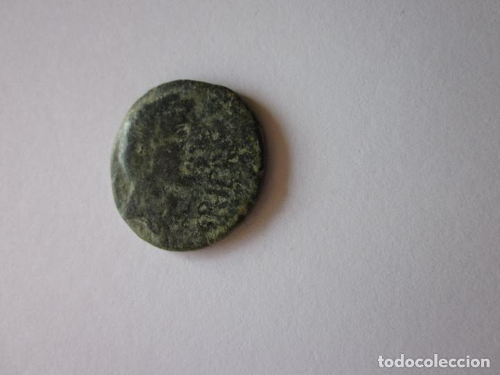 AS DE IRIPO. BUSTO GRANDE. (Numismática - Hispania Antigua - Moneda Ibérica no Romanas)