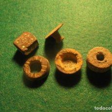 Monedas ibéricas: LOTE DE 6 PONDERALES DE DIFERENTES EPOCAS, BRONCE. Lote 227896130