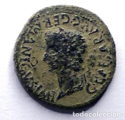 MONEDA DE CAESARAUGUSTA. AS DE CALIGULA (Numismática - Hispania Antigua - Moneda Ibérica no Romanas)