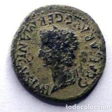 Monedas ibéricas: MONEDA DE CAESARAUGUSTA. AS DE CALIGULA. Lote 230847055