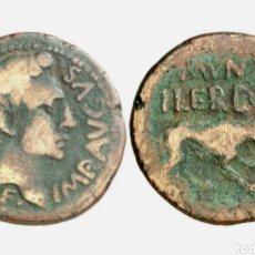 Monedas ibéricas: ILERDA - AS AUGUSTO. Lote 231698825