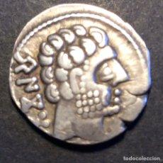 Monedas ibéricas: DENARIO BASCUNES. Lote 232241600