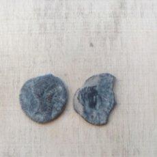 Monete iberiche: LOTE DE 2 ASES DE AUGUSTO,CECAS IRIPO Y OSET. Lote 234346745