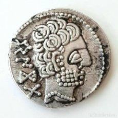 Monedas ibéricas: DENARIO BASKUNES CIRCA 110-90 A.C.. Lote 214485920