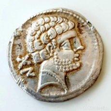 Monedas ibéricas: DENARIO BOLSCAN CIRCA 204-154 A.C.. Lote 214487927