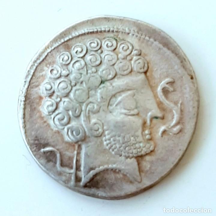 DENARIO ARSAOS CIRCA 150-100 A.C. (Numismática - Hispania Antigua - Moneda Ibérica no Romanas)