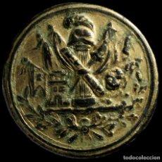 Monedas ibéricas: BOTÓN MILITAR FRANCES, OFICIAL ESTADO DEL MAYOR, GUERRAS NAPOLEONICAS, 27 MM.. Lote 244432700
