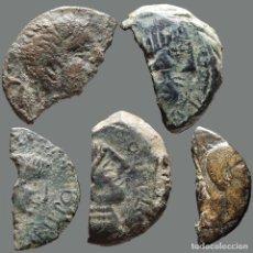 Monedas ibéricas: INTERESANTE CONJUNTO DE BRONCES IBÉRICOS FRACCIONADOS, (5). 139-L. Lote 244538115