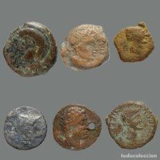 Monedas ibéricas: INTERESANTE CONJUNTO DE BRONCES IBÉRICOS, (6). 246-L. Lote 244750125