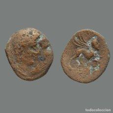 Monedas ibéricas: KÁSTILO-CASTULO, AE, AS. SERIE DE LA MANO.220-165 A. C.,216-L. Lote 244750970