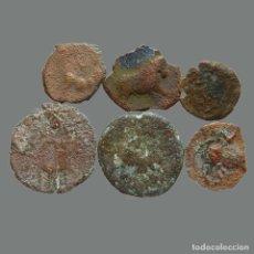 Monedas ibéricas: LOTE DE 6 MONEDAS DE ÉPOCA IBÉRICA. 214-L. Lote 244751055