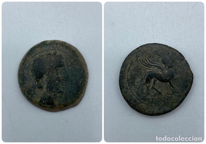 AS CASTULO. PESO: 16 GR (Numismática - Hispania Antigua - Moneda Ibérica no Romanas)
