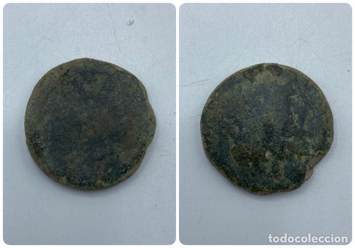 MONEDA. JANO. PESO 40 GR. (Numismática - Hispania Antigua - Moneda Ibérica no Romanas)