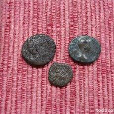 Monnaies ibériques: 3 MONEDAS IBERICAS A IDENTIFICAR. Lote 260756325