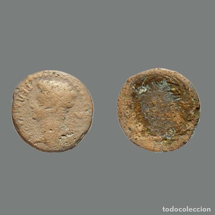 AUGUSTO 14-37 AS DE BRONCE JULIA TRADUCTA IULIA TRADUCTA. 227-L (Numismática - Hispania Antigua - Moneda Ibérica no Romanas)