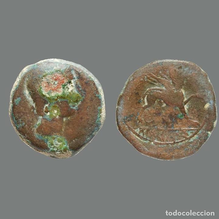 KASTILO-CASTULO. AS. 180 A.C. CAZLONA (JAÉN). 225-L (Numismática - Hispania Antigua - Moneda Ibérica no Romanas)