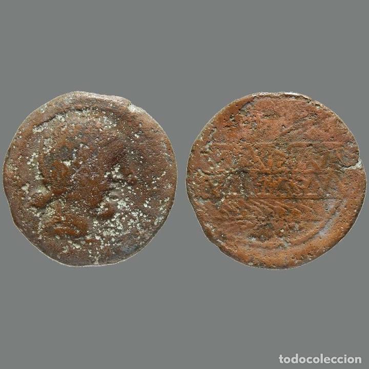 OBULCO (PORCUNA, JAÉN), AS. SIGLO II A.C. 218-L (Numismática - Hispania Antigua - Moneda Ibérica no Romanas)