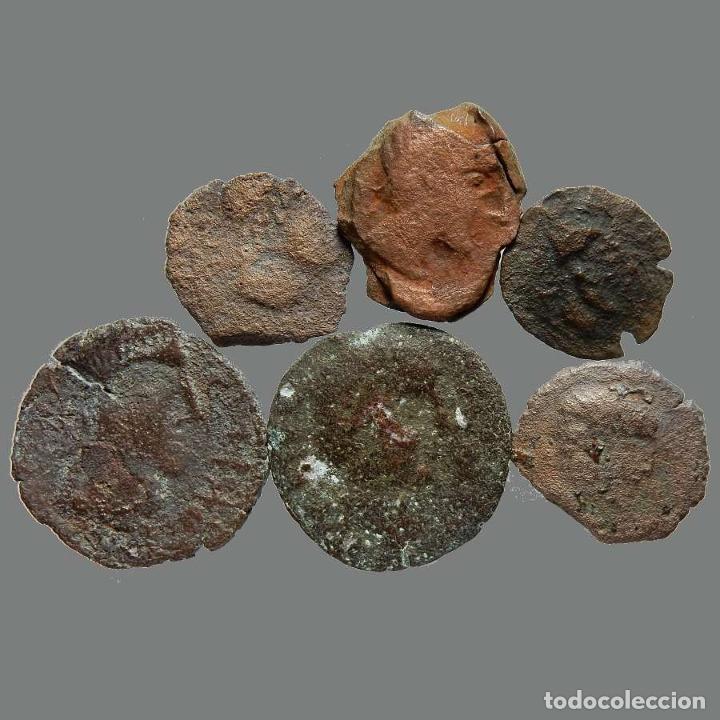 Monedas ibéricas: Lote de 6 monedas de época ibérica. 214-L - Foto 2 - 262142900