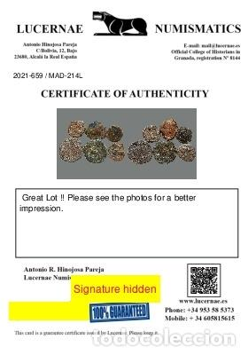 Monedas ibéricas: Lote de 6 monedas de época ibérica. 214-L - Foto 3 - 262142900