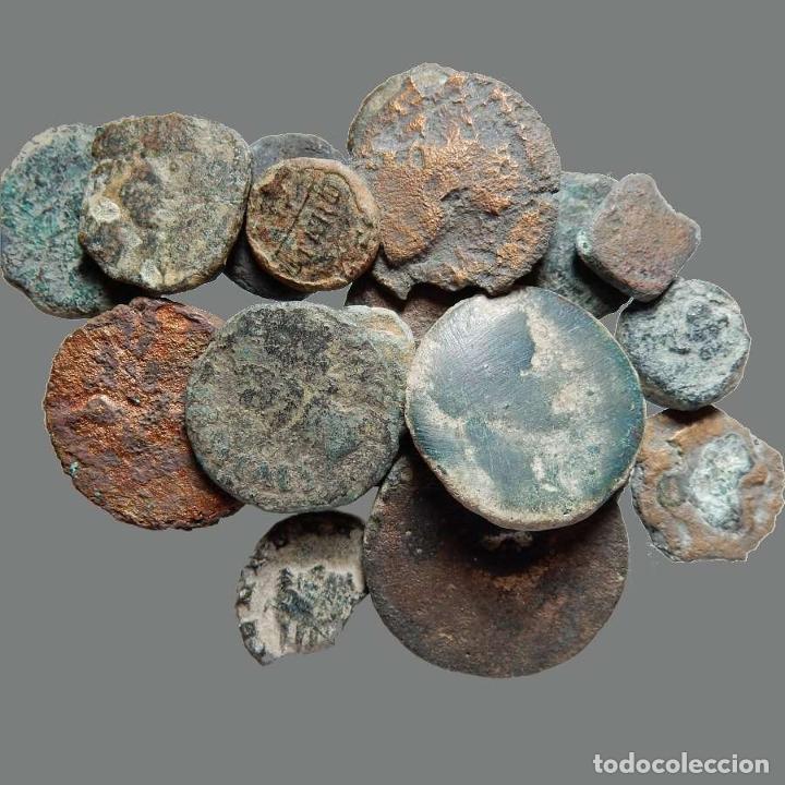LOTE DE 18 MONEDAS DE ÉPOCA IBÉRICA. 211-L (Numismática - Hispania Antigua - Moneda Ibérica no Romanas)
