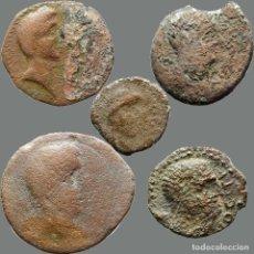 Monedas ibéricas: LOTE DE 5 MONEDAS DE ÉPOCA IBÉRICA. 209-L. Lote 262142950