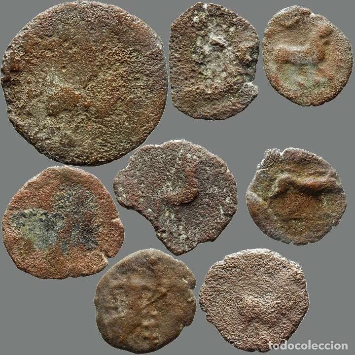Monedas ibéricas: Lote de 8 monedas de época ibérica. 208-L - Foto 2 - 262142955