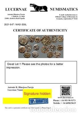 Monedas ibéricas: Lote de 8 monedas de época ibérica. 208-L - Foto 3 - 262142955
