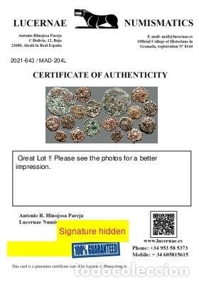Monedas ibéricas: Lote de 9 monedas de época ibérica. 204-L - Foto 3 - 262143050