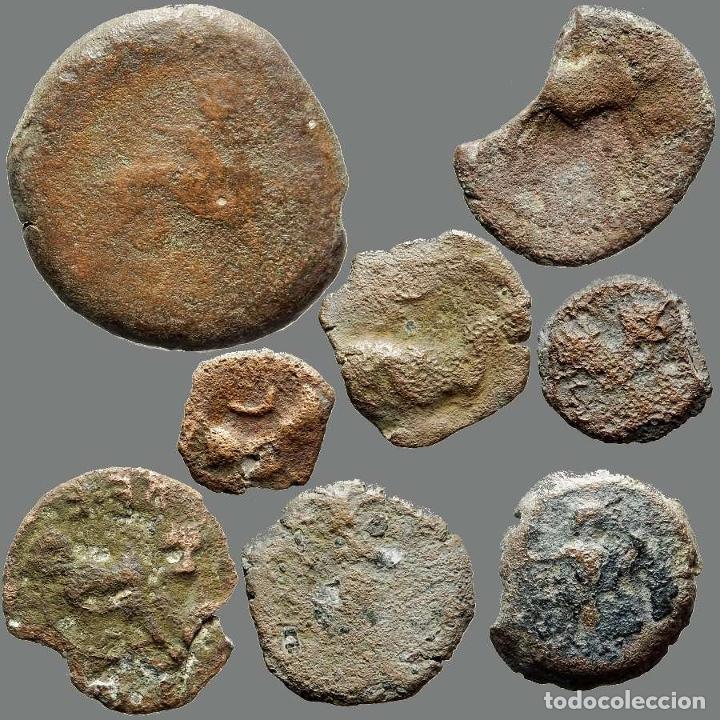 Monedas ibéricas: Lote de 8 monedas de época ibérica. 203-L - Foto 2 - 262143070