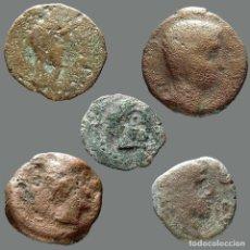 Monedas ibéricas: INTERESANTE CONJUNTO DE BRONCES IBÉRICOS, (5). 59-L. Lote 262143140