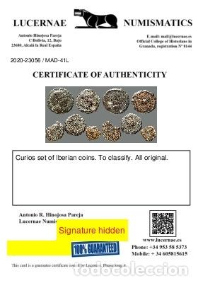 Monedas ibéricas: Interesante conjunto de bronces ibéricos, (5). 41-L - Foto 3 - 262143145