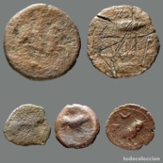 Monedas ibéricas: INTERESANTE CONJUNTO DE BRONCES IBÉRICOS, (5). 89-L. Lote 262143185
