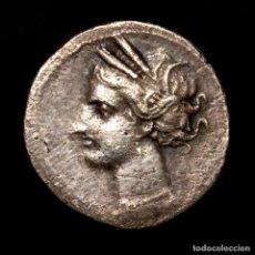 Monedas ibéricas: CARTAGONOVA (CARTAGENA, MURCIA) 1/2 SHEKEL. 220-215 A.C.. Lote 269680063