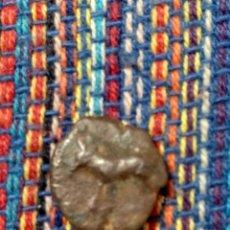 Monedas ibéricas: 1/8 CALCO EBUSUS IBIZA TORO-TORO CON CERTIFICADO AUTENTICIDAD PESO: 1'63 GRAMOS ALV.BURGOS 906. Lote 269682408
