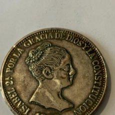 Monedas ibéricas: CURIOSA MONEDA DE PLATA FALSA, TIPO -DURO SEVILLANO- O SIMILAR. Lote 272987298