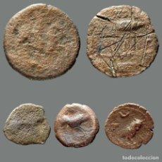 Monedas ibéricas: INTERESANTE CONJUNTO DE BRONCES IBÉRICOS, (5). 89-L. Lote 277612288