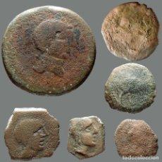 Monedas ibéricas: LOTE DE 6 MONEDAS DE ÉPOCA IBÉRICA. 124-L. Lote 277612623